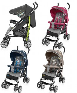 Baby design wózek spacerowy TRAVEL QUICK, parasolka,